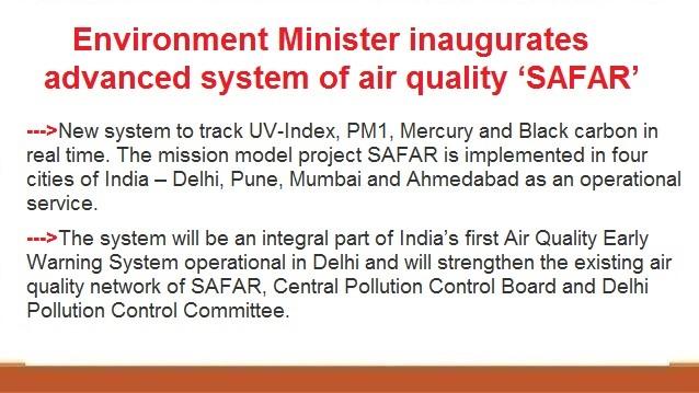 ias-coaching-centres-bangalore-hyderabad-pragnya-ias-academy-current-affairs-Environment-Minister