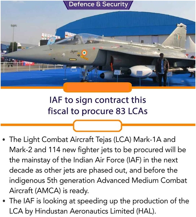 ias-coaching-centres-bangalore-hyderabad-pragnya-ias-academy-current-affairs-IAF-LCAs-fiscal