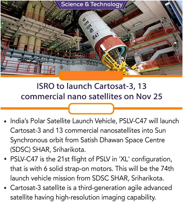 ias-coaching-centres-bangalore-hyderabad-pragnya-ias-academy-current-affairs-ISRO-Cartosat-3-nano
