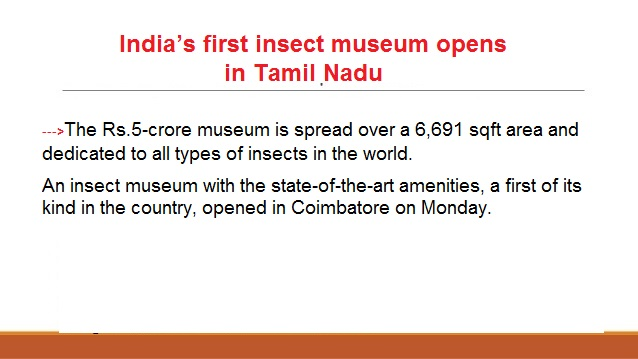 ias-coaching-centres-bangalore-hyderabad-pragnya-ias-academy-current-affairs-India-InsectMuseum