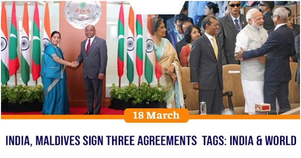 ias-coaching-centres-bangalore-hyderabad-pragnya-ias-academy-current-affairs-India-Maldives-agreements
