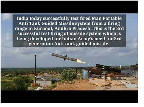 ias-coaching-centres-bangalore-hyderabad-pragnya-ias-academy-current-affairs-India-Portable-Guided-Missile