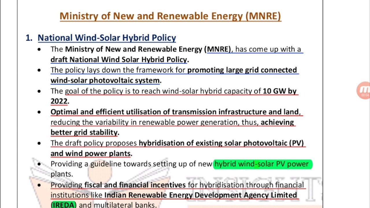 ias-coaching-centres-bangalore-hyderabad-pragnya-ias-academy-current-affairs-MNRE-National-Wind-solar
