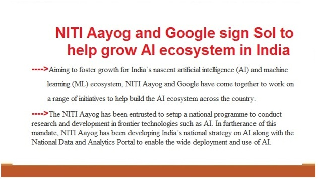 ias-coaching-centres-bangalore-hyderabad-pragnya-ias-academy-current-affairs-NITIAayog-Google-India-ecosystem