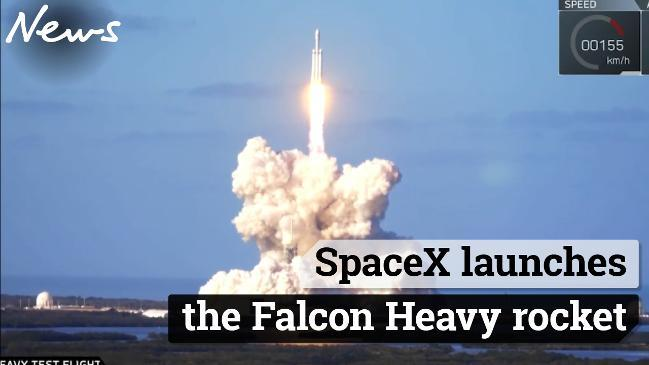 ias-coaching-centres-bangalore-hyderabad-pragnya-ias-academy-current-affairs-SpaceX-launch-Falcon