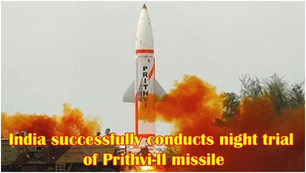 ias-coaching-centres-bangalore-hyderabad-pragnya-ias-academy-current-affairs-Successful-trial-Missile