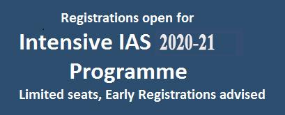 Intensive IAS 2015-16 Programme